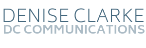 Denise Clarke | DC Communications Logo